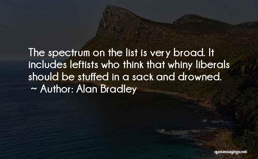 Spectrum Quotes By Alan Bradley