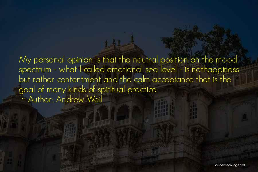 Spectrum Quotes By Andrew Weil