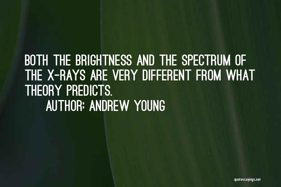 Spectrum Quotes By Andrew Young