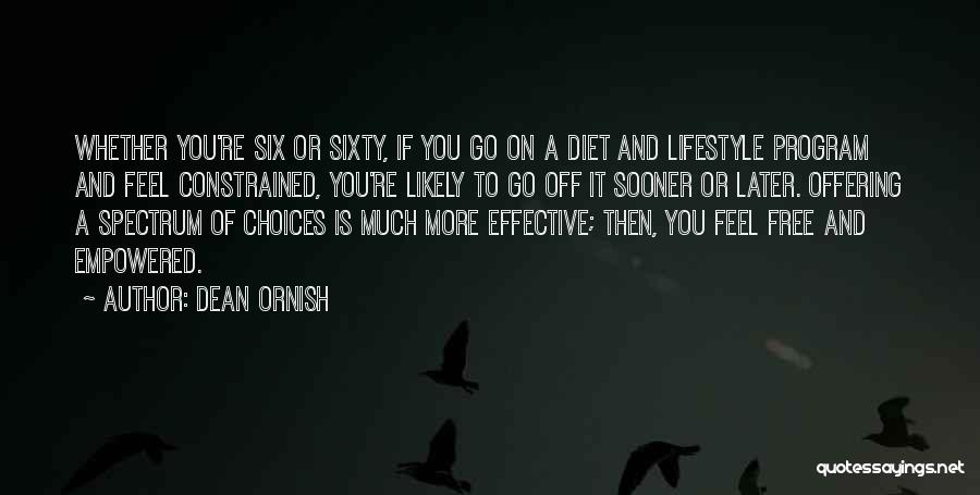 Spectrum Quotes By Dean Ornish