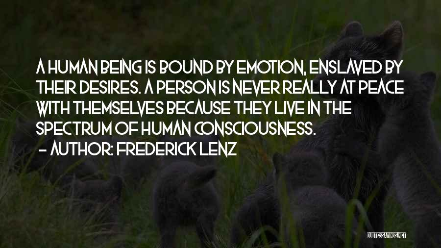 Spectrum Quotes By Frederick Lenz