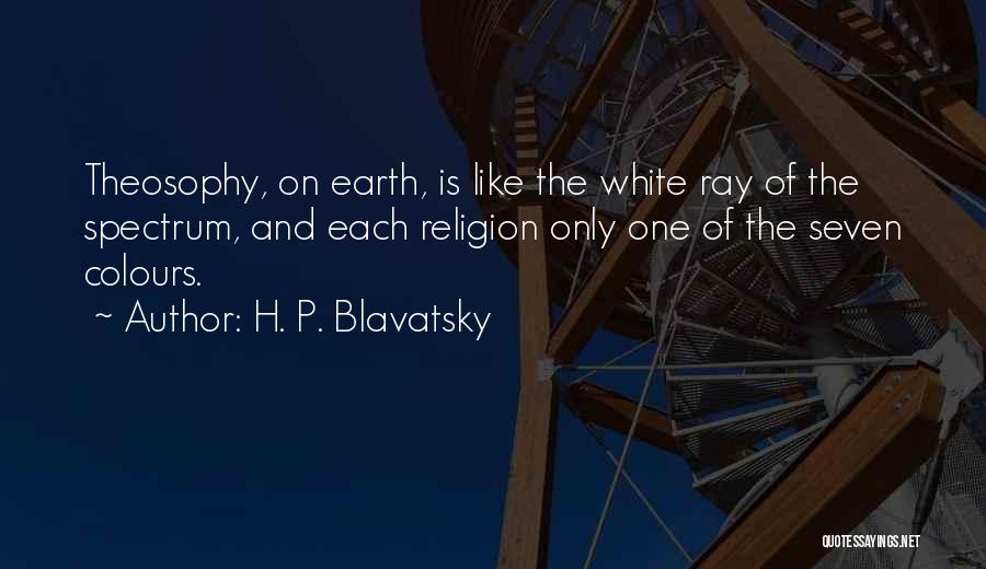 Spectrum Quotes By H. P. Blavatsky