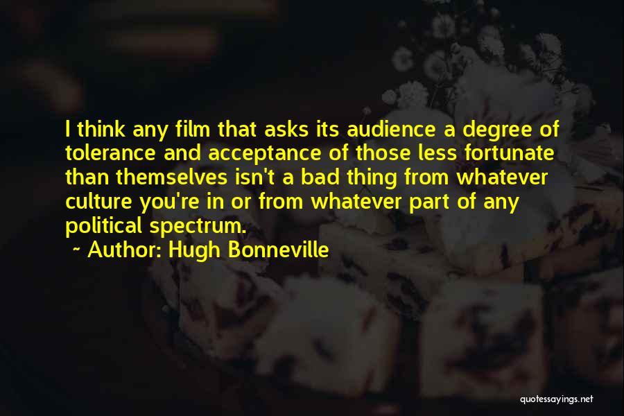 Spectrum Quotes By Hugh Bonneville