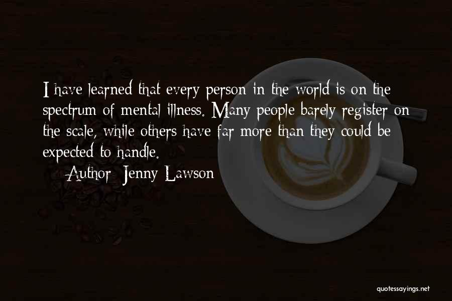 Spectrum Quotes By Jenny Lawson