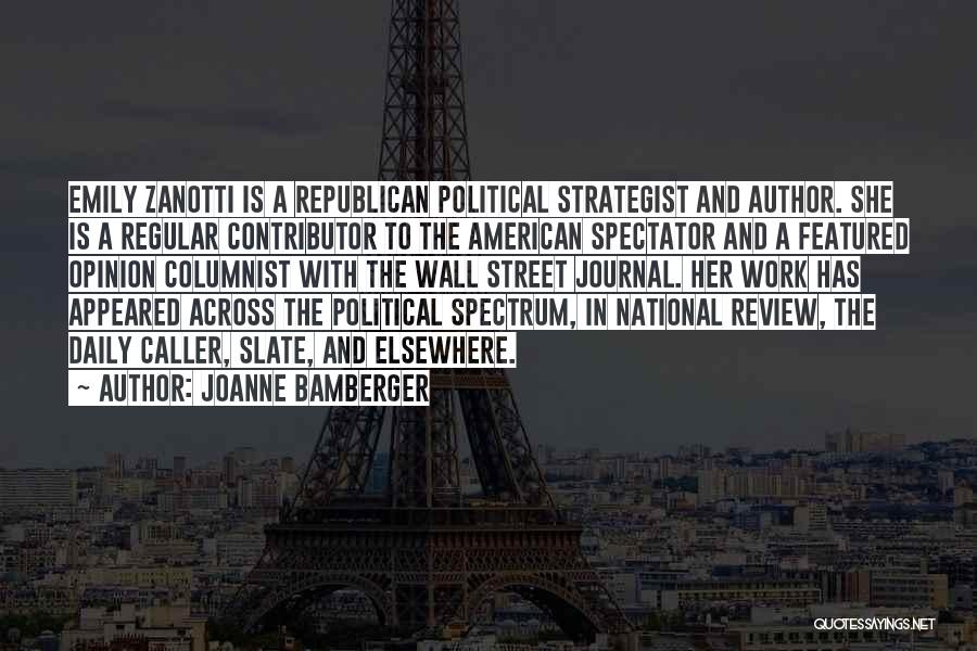 Spectrum Quotes By Joanne Bamberger