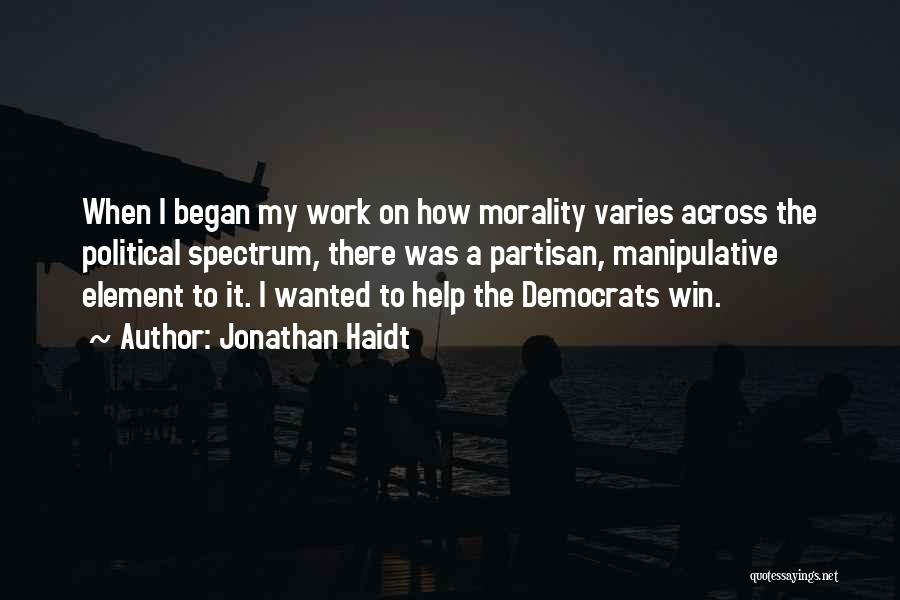 Spectrum Quotes By Jonathan Haidt