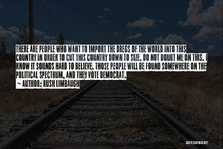 Spectrum Quotes By Rush Limbaugh