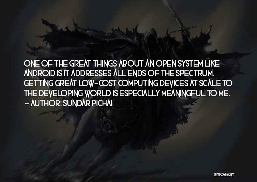 Spectrum Quotes By Sundar Pichai