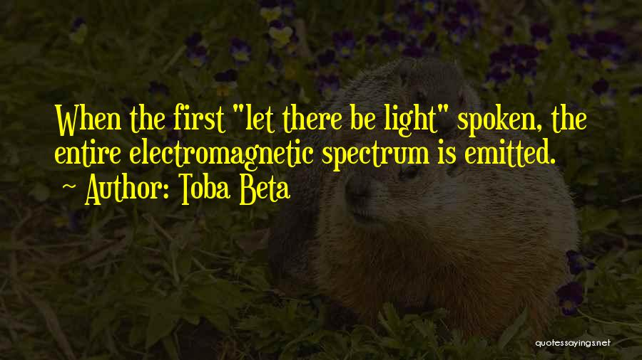 Spectrum Quotes By Toba Beta