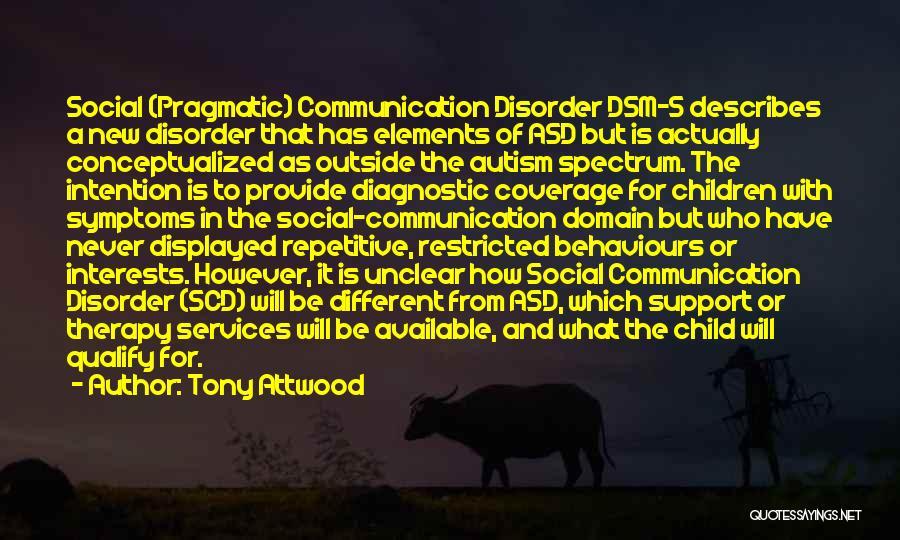 Spectrum Quotes By Tony Attwood