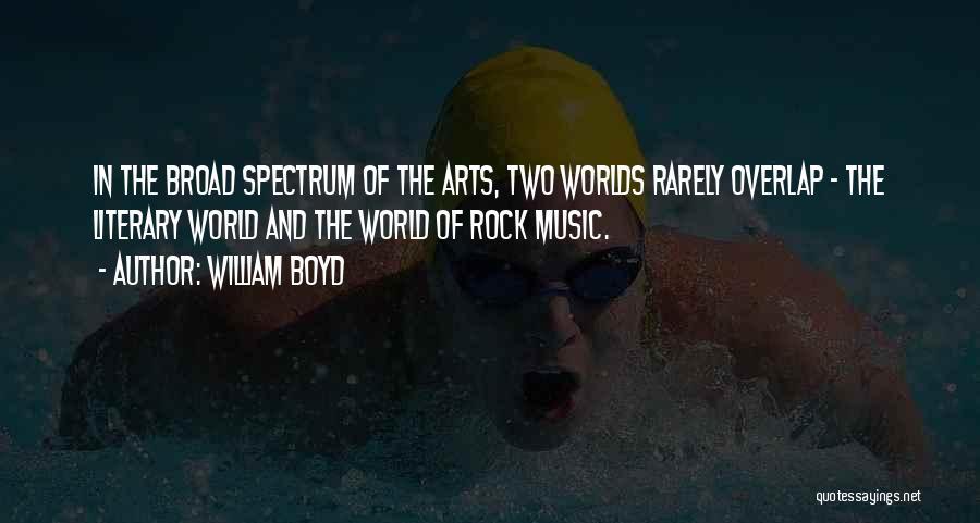 Spectrum Quotes By William Boyd