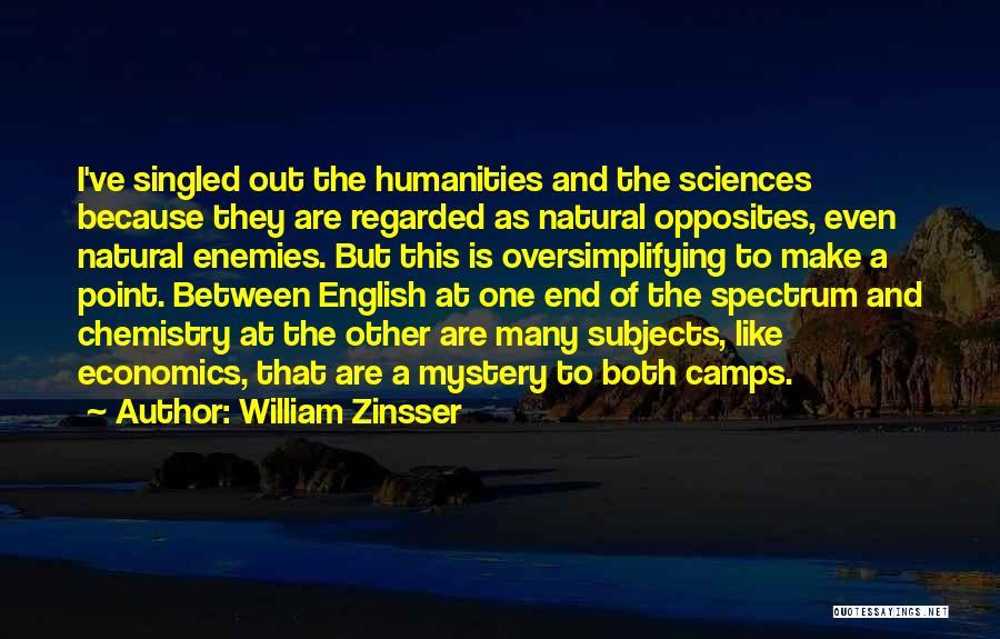 Spectrum Quotes By William Zinsser