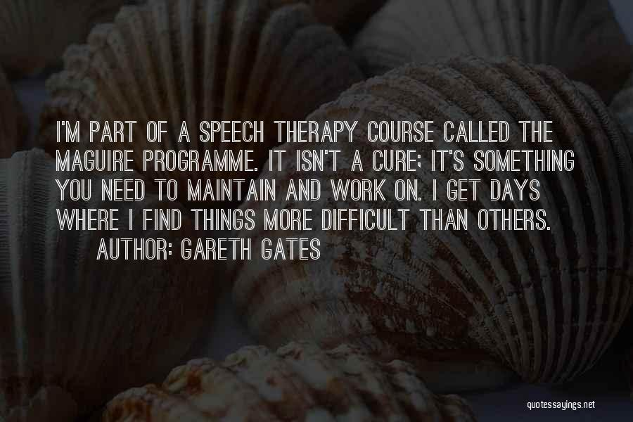 Top 21 Quotes & Sayings About Speech Therapy
