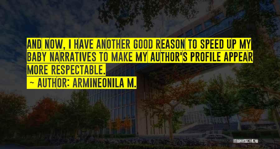 Speed Of Thought Quotes By Armineonila M.