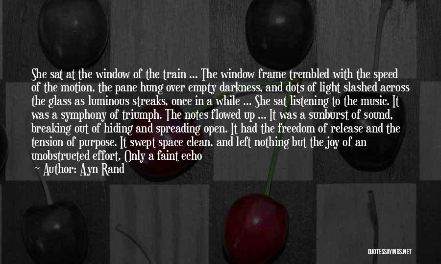 Speed Of Thought Quotes By Ayn Rand