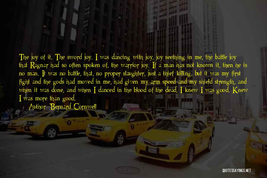 Speed Of Thought Quotes By Bernard Cornwell