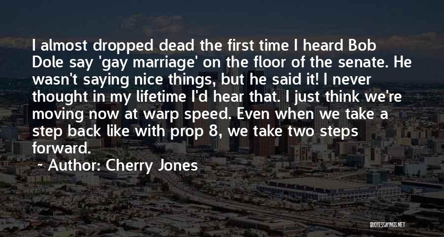 Speed Of Thought Quotes By Cherry Jones