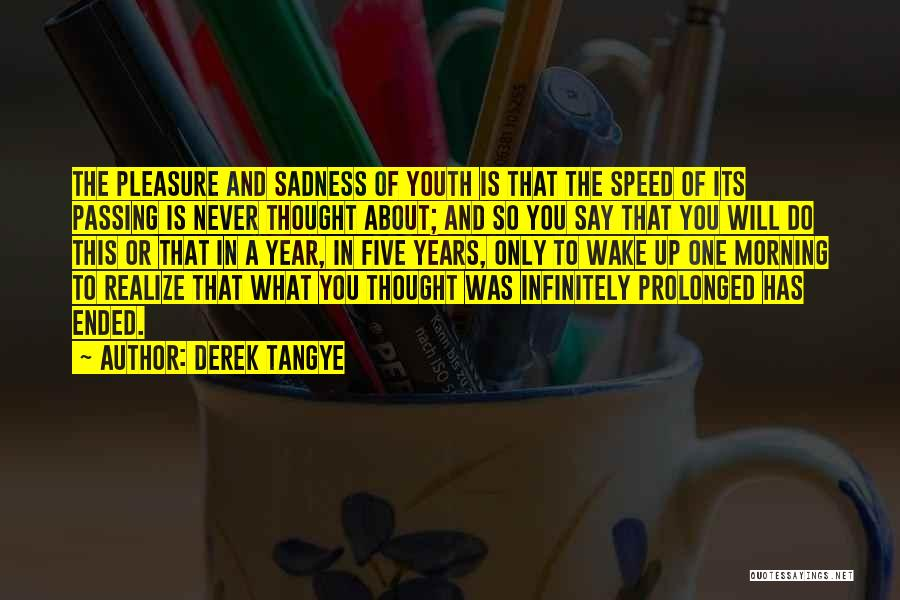 Speed Of Thought Quotes By Derek Tangye