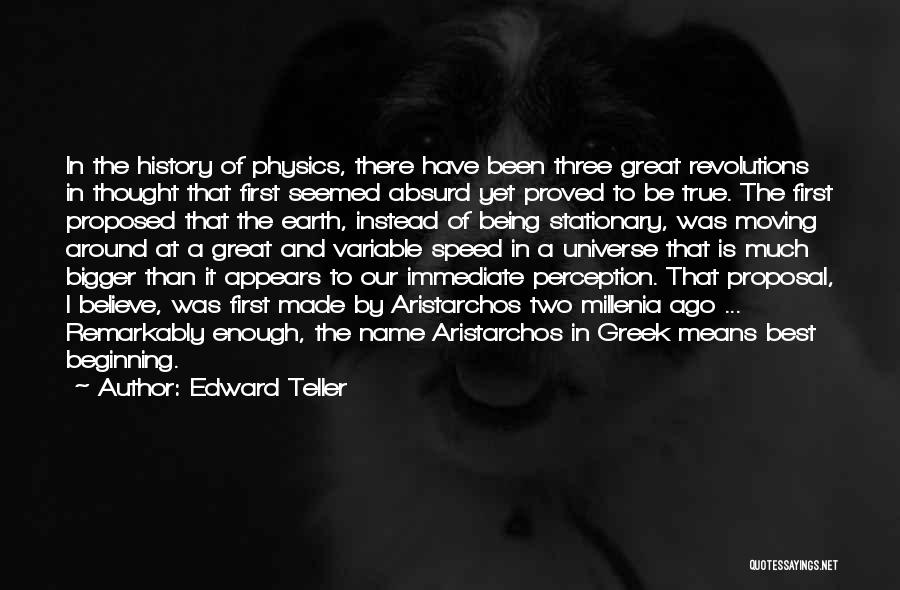 Speed Of Thought Quotes By Edward Teller