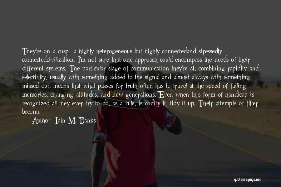Speed Of Thought Quotes By Iain M. Banks