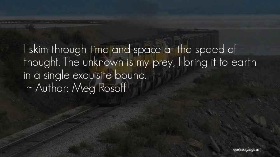 Speed Of Thought Quotes By Meg Rosoff