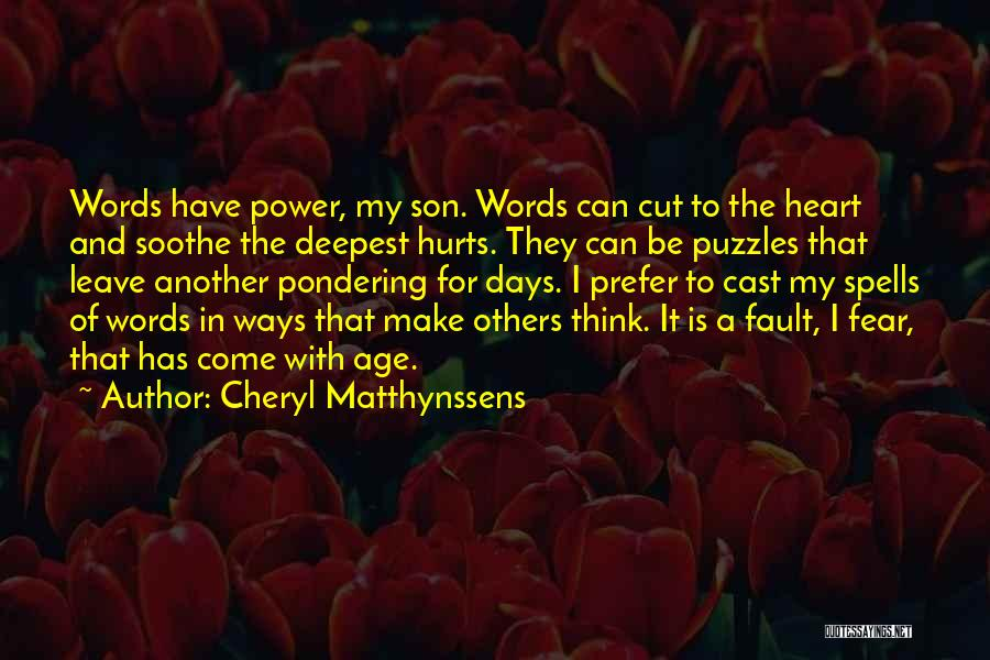Spells And Magic Quotes By Cheryl Matthynssens
