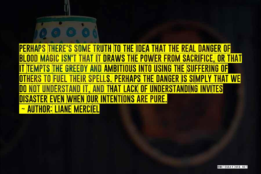 Spells And Magic Quotes By Liane Merciel