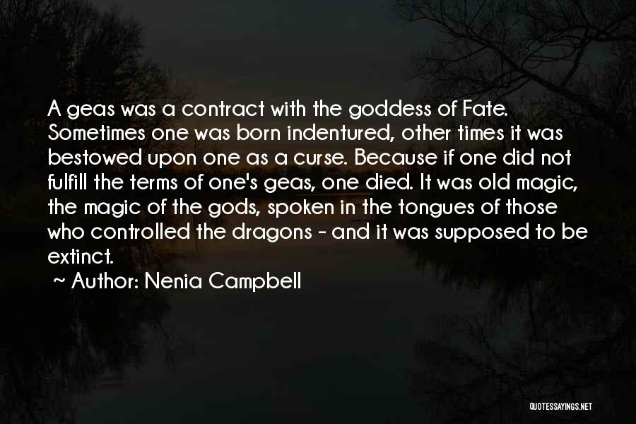 Spells And Magic Quotes By Nenia Campbell