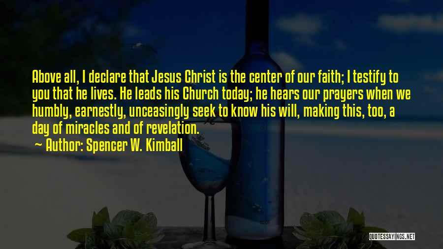 Spencer W. Kimball Quotes 1079667