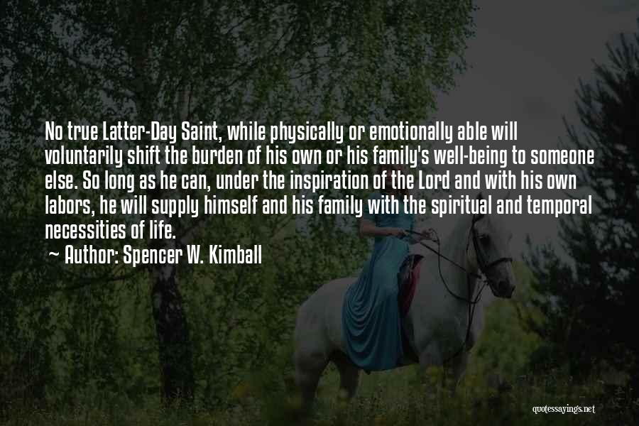 Spencer W. Kimball Quotes 110560