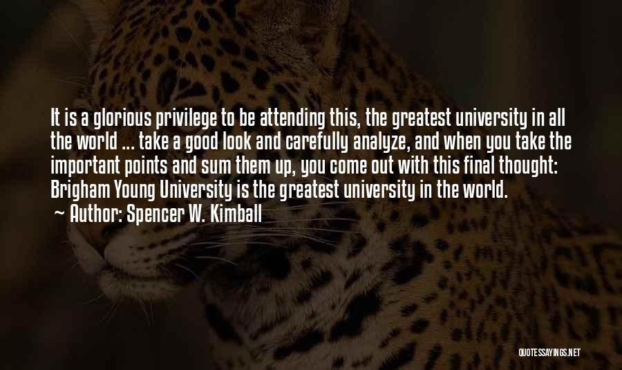 Spencer W. Kimball Quotes 166210