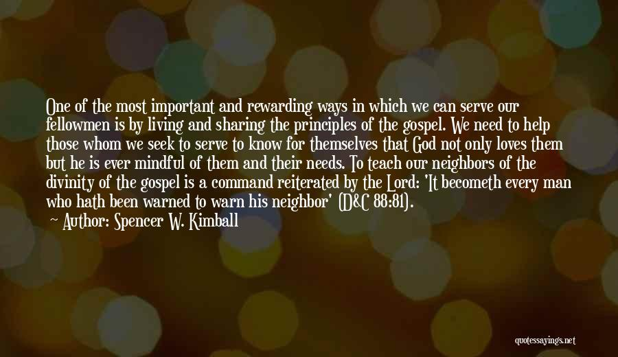Spencer W. Kimball Quotes 1962488