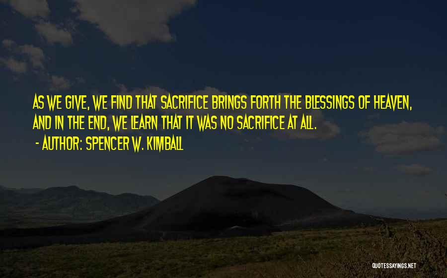 Spencer W. Kimball Quotes 2097199