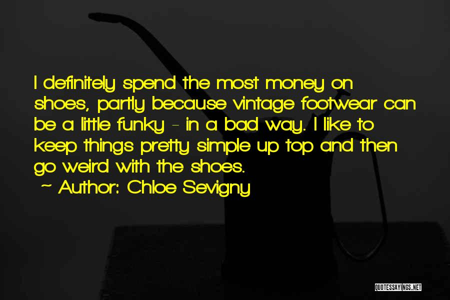 Spend The Money Quotes By Chloe Sevigny