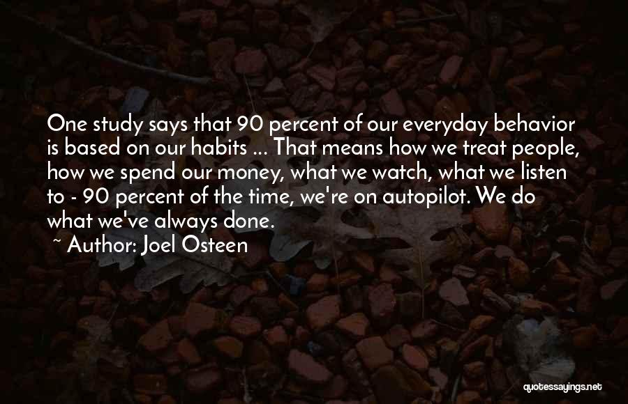 Spend The Money Quotes By Joel Osteen