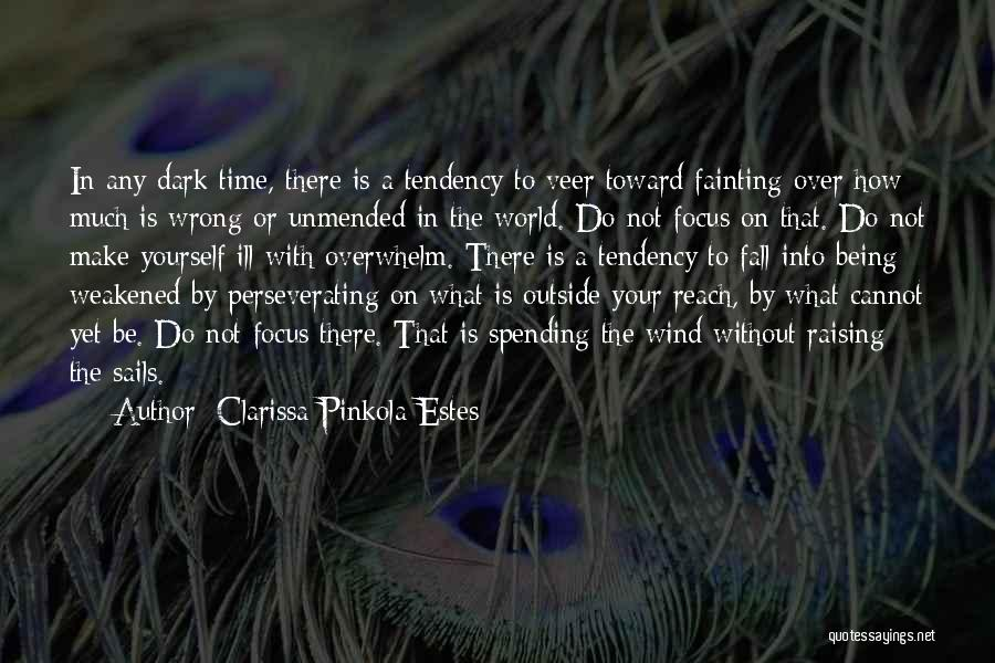 Spending Time On Yourself Quotes By Clarissa Pinkola Estes