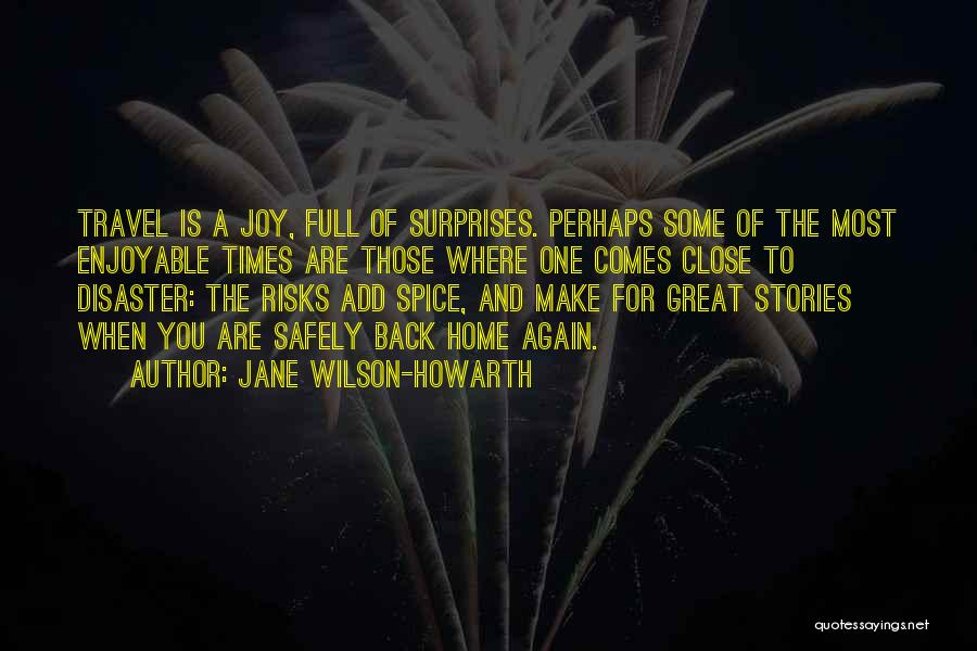 Spice 1 Quotes By Jane Wilson-Howarth
