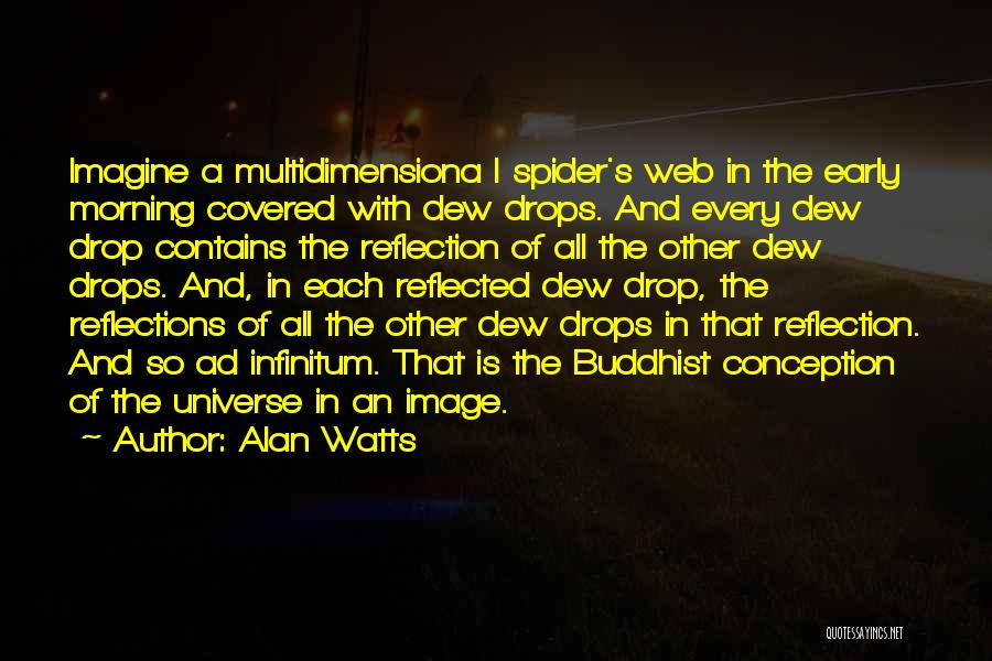 Spider's Web Quotes By Alan Watts