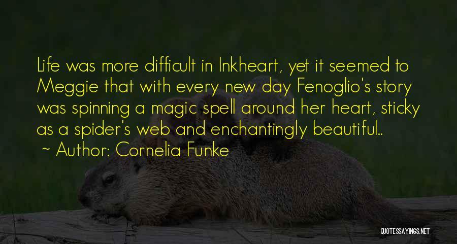 Spider's Web Quotes By Cornelia Funke