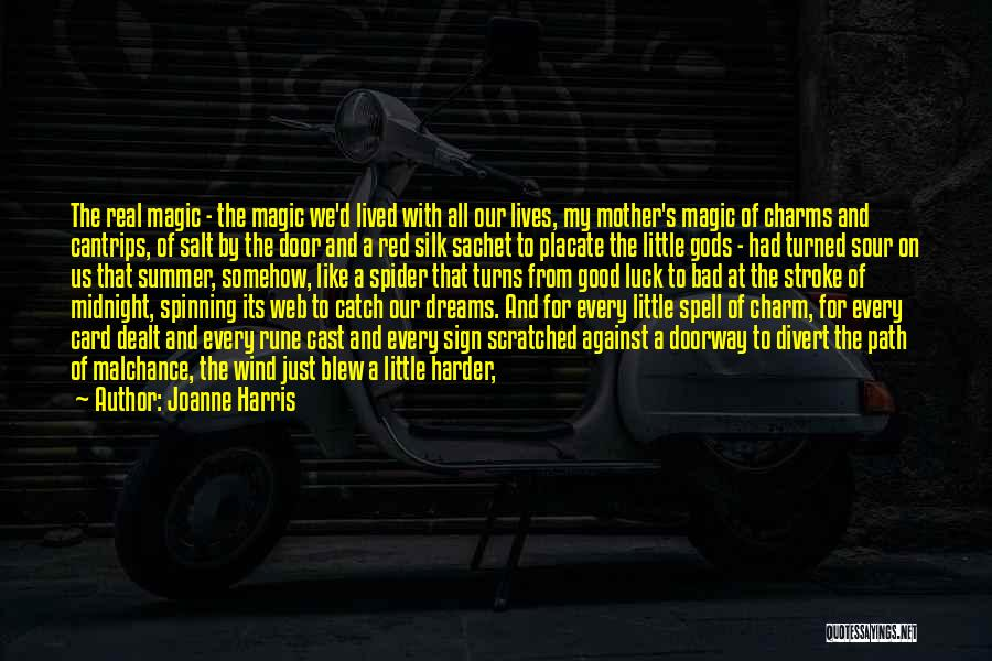 Spider's Web Quotes By Joanne Harris