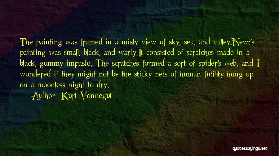 Spider's Web Quotes By Kurt Vonnegut