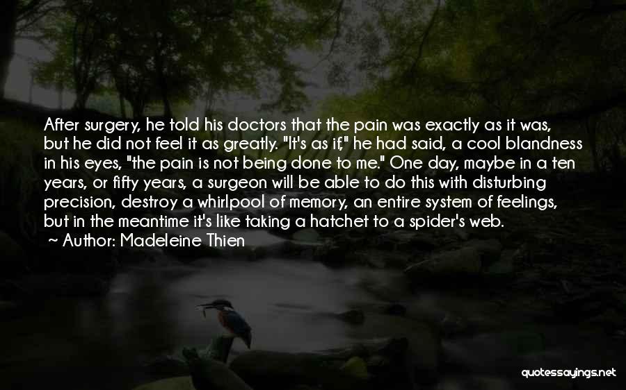 Spider's Web Quotes By Madeleine Thien