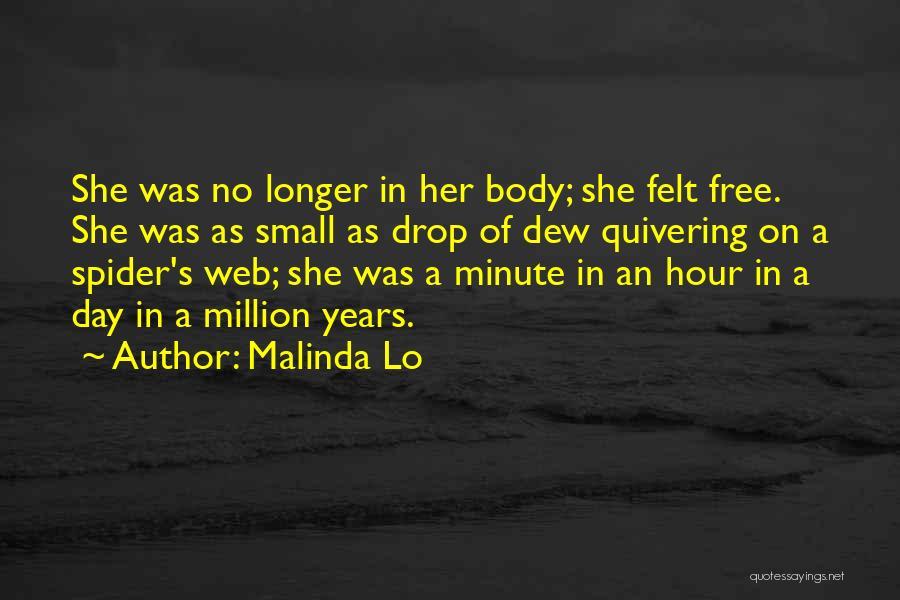Spider's Web Quotes By Malinda Lo