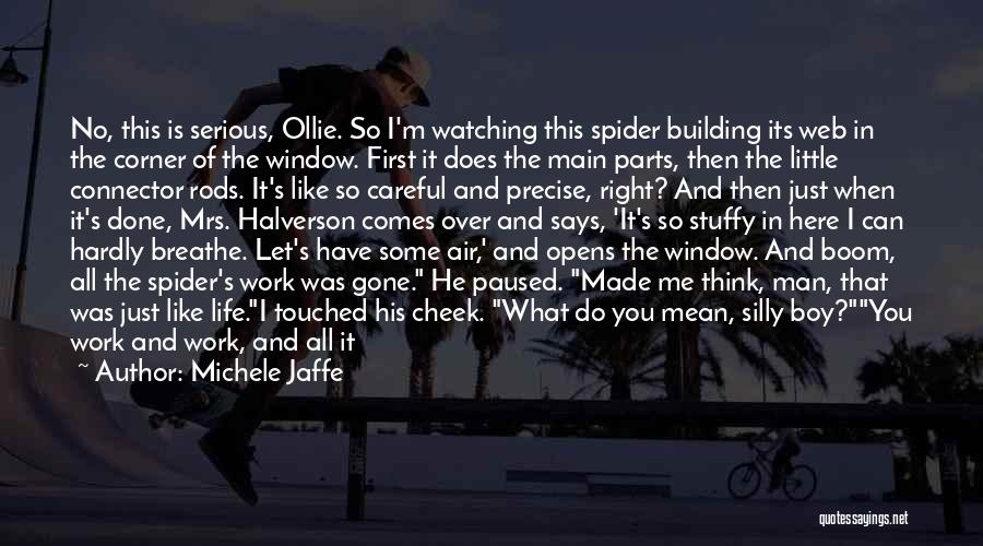 Spider's Web Quotes By Michele Jaffe