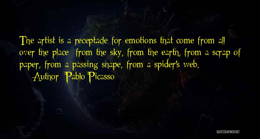 Spider's Web Quotes By Pablo Picasso