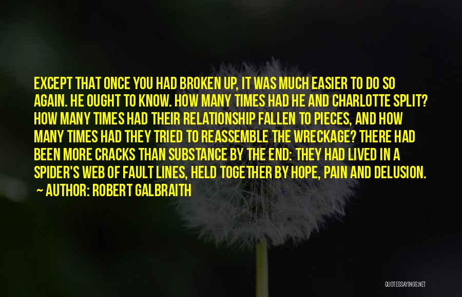 Spider's Web Quotes By Robert Galbraith