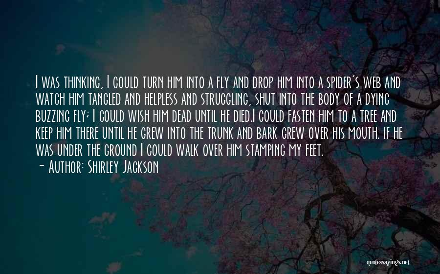 Spider's Web Quotes By Shirley Jackson
