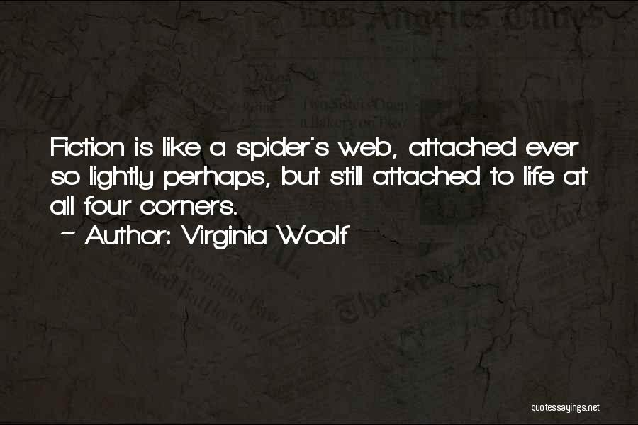 Spider's Web Quotes By Virginia Woolf