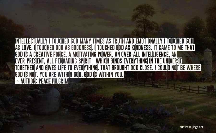Spirit Life Quotes By Peace Pilgrim