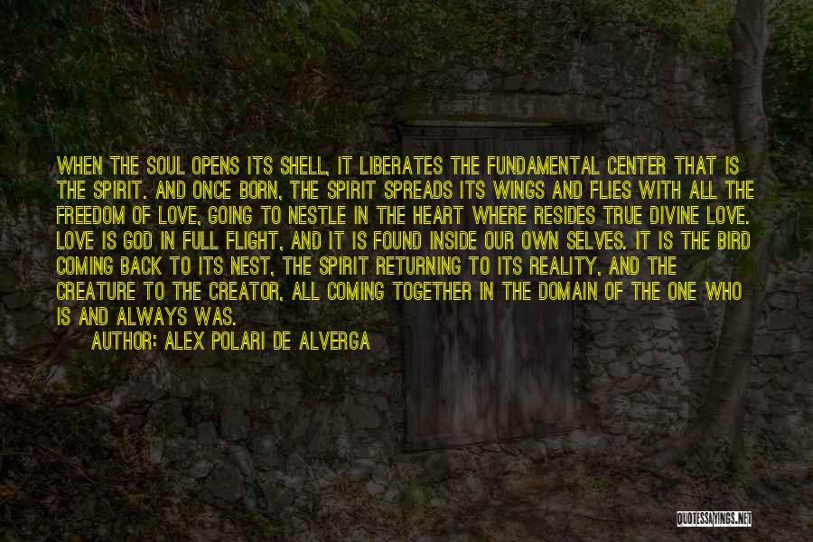 Spirit Love Quotes By Alex Polari De Alverga